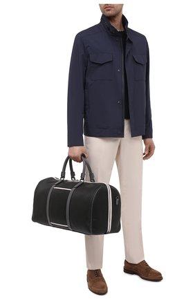 Мужская дорожная сумка stepan SERAPIAN черного цвета, арт. SRSTPMTR280650E | Фото 2