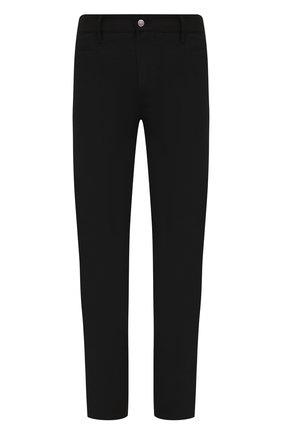 Мужские брюки RICK OWENS черного цвета, арт. RU21S6393/TS | Фото 1