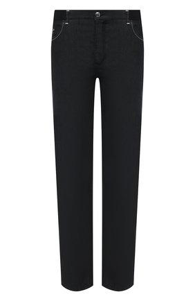 Мужские джинсы ZILLI черного цвета, арт. MCV-00030-ULBK1/R001 | Фото 1
