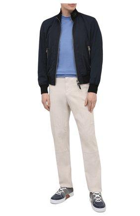 Мужской хлопковый джемпер SVEVO голубого цвета, арт. 4650/3SE21/MP46 | Фото 2