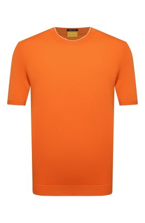 Мужской хлопковый джемпер SVEVO оранжевого цвета, арт. 4650/3SE21/MP46 | Фото 1