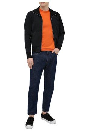Мужской хлопковый джемпер SVEVO оранжевого цвета, арт. 4650/3SE21/MP46 | Фото 2