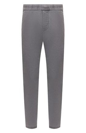 Мужские хлопковые брюки JAMES PERSE серого цвета, арт. MSUP1313 | Фото 1