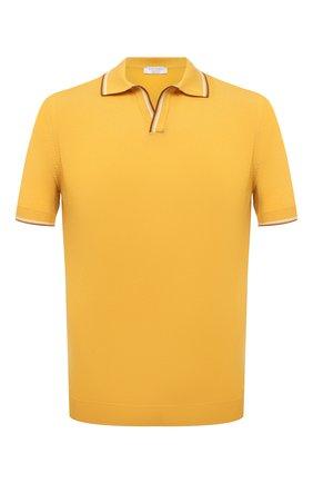 Мужское хлопковое поло GRAN SASSO желтого цвета, арт. 57132/20688 | Фото 1