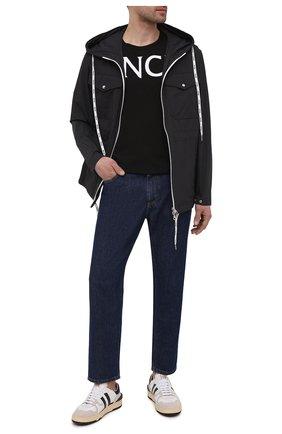 Мужская куртка carion MONCLER черного цвета, арт. G1-091-1B738-00-54A91 | Фото 2