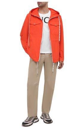Мужская куртка carion MONCLER оранжевого цвета, арт. G1-091-1B738-00-54A91 | Фото 2