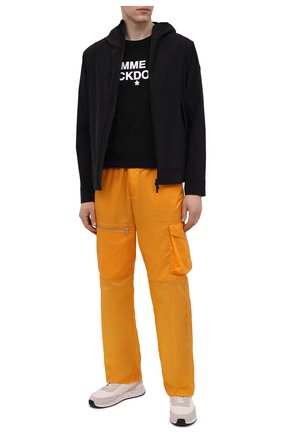 Мужская хлопковая футболка COMME DES FUCKDOWN черного цвета, арт. CDFU1101 | Фото 2