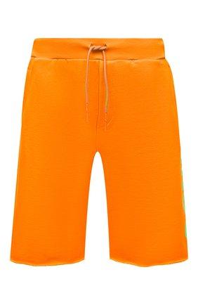 Мужские хлопковые шорты COMME DES FUCKDOWN оранжевого цвета, арт. CDFU1110 | Фото 1