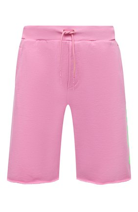 Мужские хлопковые шорты COMME DES FUCKDOWN розового цвета, арт. CDFU1110 | Фото 1