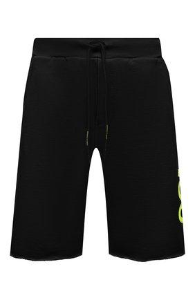Мужские хлопковые шорты COMME DES FUCKDOWN черного цвета, арт. CDFU1110 | Фото 1