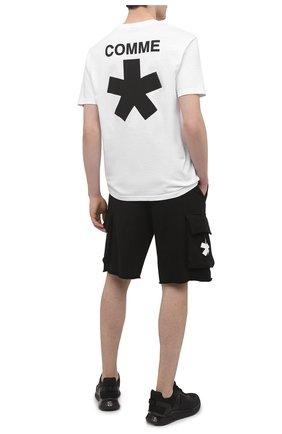 Мужская хлопковая футболка COMME DES FUCKDOWN белого цвета, арт. CDFU1118 | Фото 2