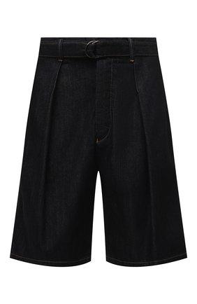 Мужские джинсовые шорты GIORGIO ARMANI темно-синего цвета, арт. 3KSP63/SD0TZ | Фото 1