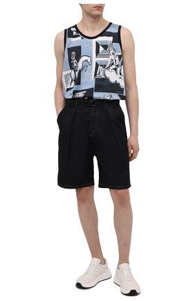 Мужские джинсовые шорты GIORGIO ARMANI темно-синего цвета, арт. 3KSP63/SD0TZ | Фото 2