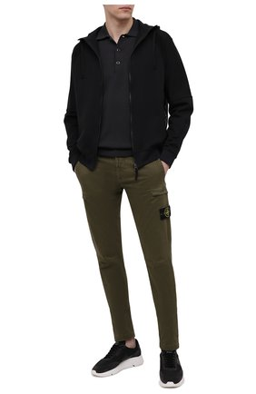 Мужской толстовка STONE ISLAND SHADOW PROJECT черного цвета, арт. 741960207   Фото 2