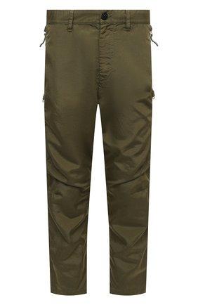Мужские брюки STONE ISLAND SHADOW PROJECT хаки цвета, арт. 741930402   Фото 1