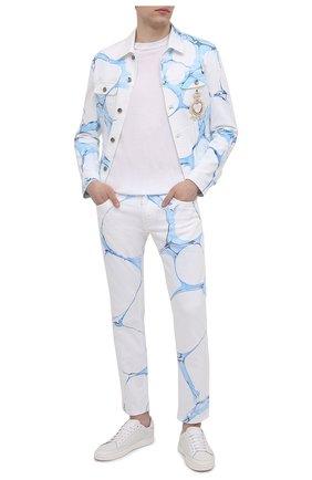 Мужские джинсы DOLCE & GABBANA голубого цвета, арт. GYC4LZ/G8CJ0 | Фото 2