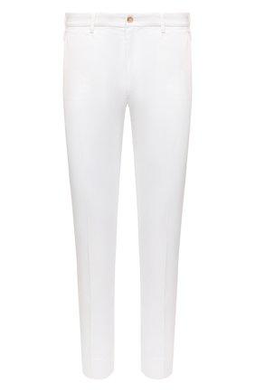 Мужские хлопковые брюки DOLCE & GABBANA белого цвета, арт. GY6IEZ/FUFJR | Фото 1