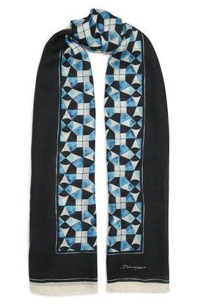 Мужской шарф DOLCE & GABBANA разноцветного цвета, арт. GQ213E/G3SFX | Фото 1