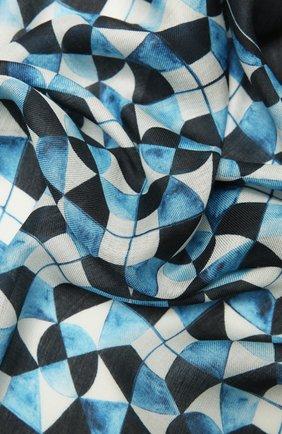 Мужской шарф DOLCE & GABBANA разноцветного цвета, арт. GQ213E/G3SFX | Фото 2