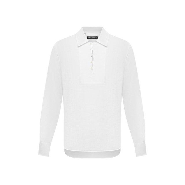 Льняная рубашка Dolce & Gabbana