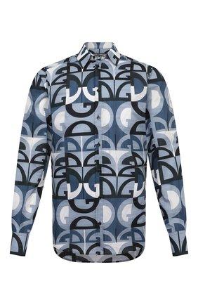 Мужская хлопковая рубашка DOLCE & GABBANA разноцветного цвета, арт. G5EJ1T/HS5HJ | Фото 1