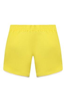 Детские плавки-шорты GIVENCHY желтого цвета, арт. H20044 | Фото 2