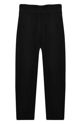 Детские брюки KARL LAGERFELD KIDS черного цвета, арт. Z14156   Фото 2
