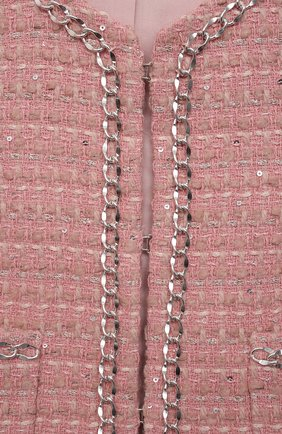 Детский жакет coco ZHANNA & ANNA розового цвета, арт. ZAP07012021_1 | Фото 3