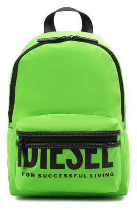 Детская рюкзак DIESEL зеленого цвета, арт. BX0026-P3329 | Фото 1