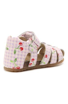 Детские кожаные босоножки FALCOTTO розового цвета, арт. 0011500736/36 | Фото 2