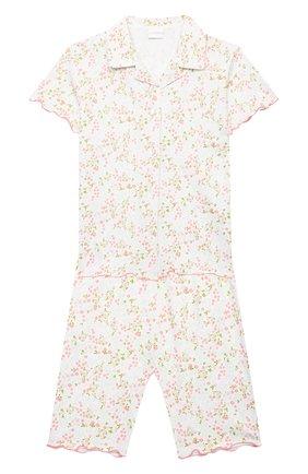 Детская хлопковая пижама LA PERLA разноцветного цвета, арт. 70001/2A-6A | Фото 1