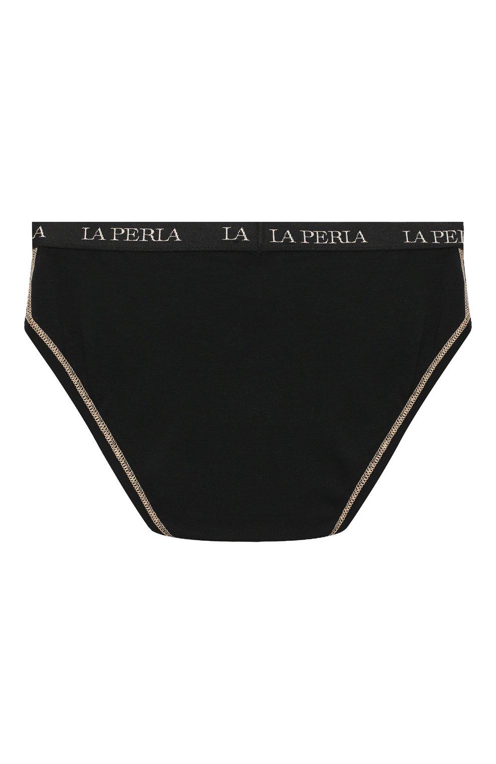 Детские трусы-брифы LA PERLA черного цвета, арт. 70158/2A-6A | Фото 2