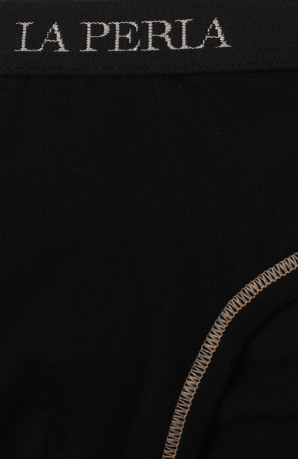Детские трусы-брифы LA PERLA черного цвета, арт. 70158/2A-6A | Фото 3
