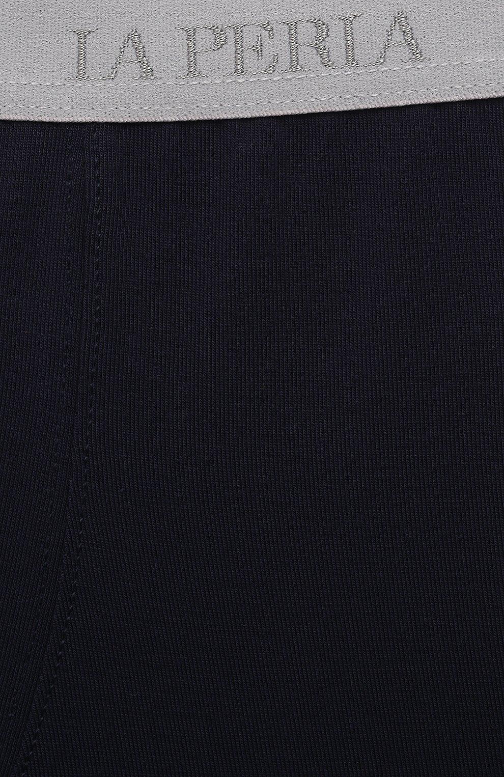Детские трусы-боксеры LA PERLA темно-синего цвета, арт. 70168/2A-6A | Фото 3