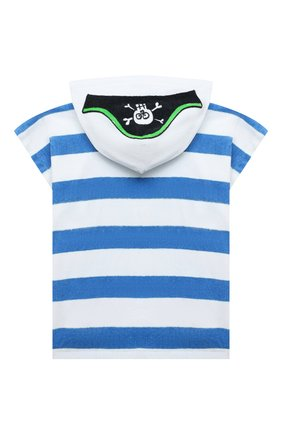 Детского хлопковое пончо-полотенце STELLA MCCARTNEY белого цвета, арт. 602346/SQK24 | Фото 2