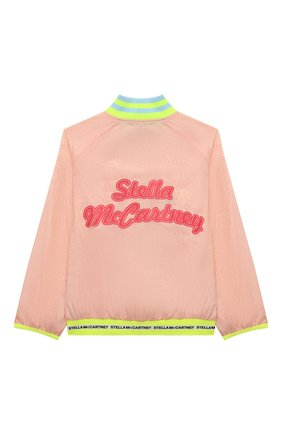 Детская ветровка STELLA MCCARTNEY розового цвета, арт. 602665/SQK45 | Фото 2
