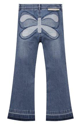 Детские джинсы STELLA MCCARTNEY синего цвета, арт. 602746/SQK97 | Фото 2