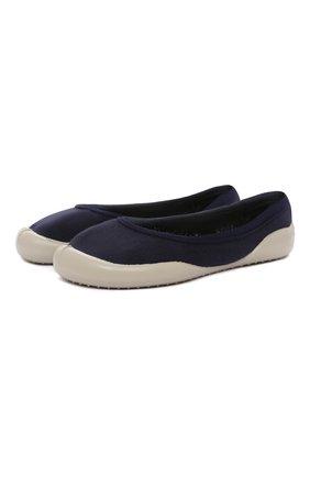 Детского домашние туфли COLLEGIEN синего цвета, арт. T0P3/36-39 | Фото 1 (Материал внешний: Текстиль; Материал внутренний: Текстиль; Кросс-КТ: слиперы)