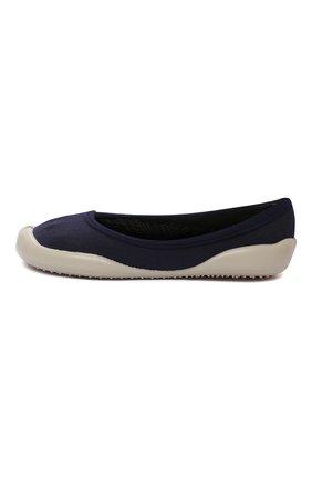 Детского домашние туфли COLLEGIEN синего цвета, арт. T0P3/36-39 | Фото 2 (Материал внешний: Текстиль; Материал внутренний: Текстиль; Кросс-КТ: слиперы)