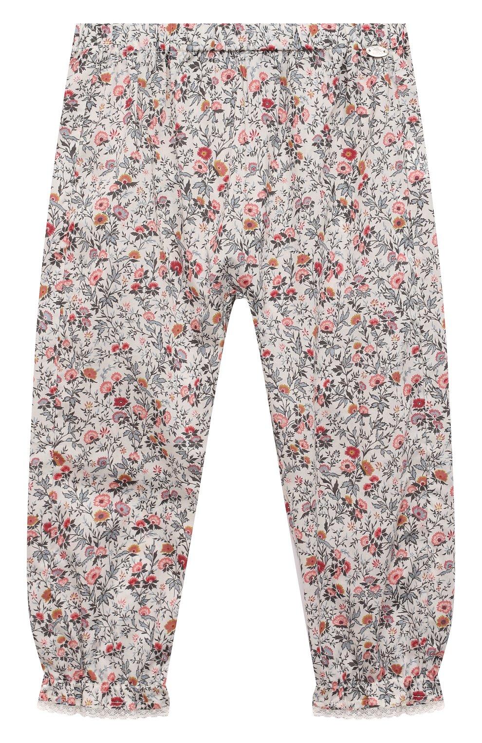 Детские хлопковые брюки TARTINE ET CHOCOLAT разноцветного цвета, арт. TS22041/2A-3A   Фото 1