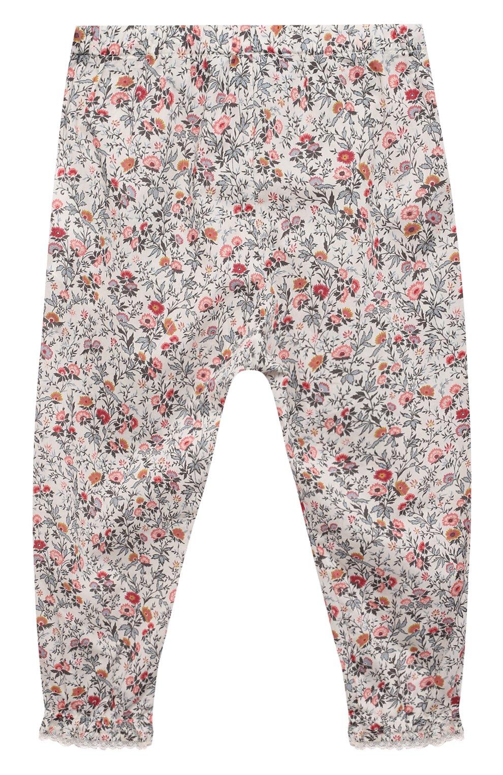 Детские хлопковые брюки TARTINE ET CHOCOLAT разноцветного цвета, арт. TS22041/2A-3A   Фото 2