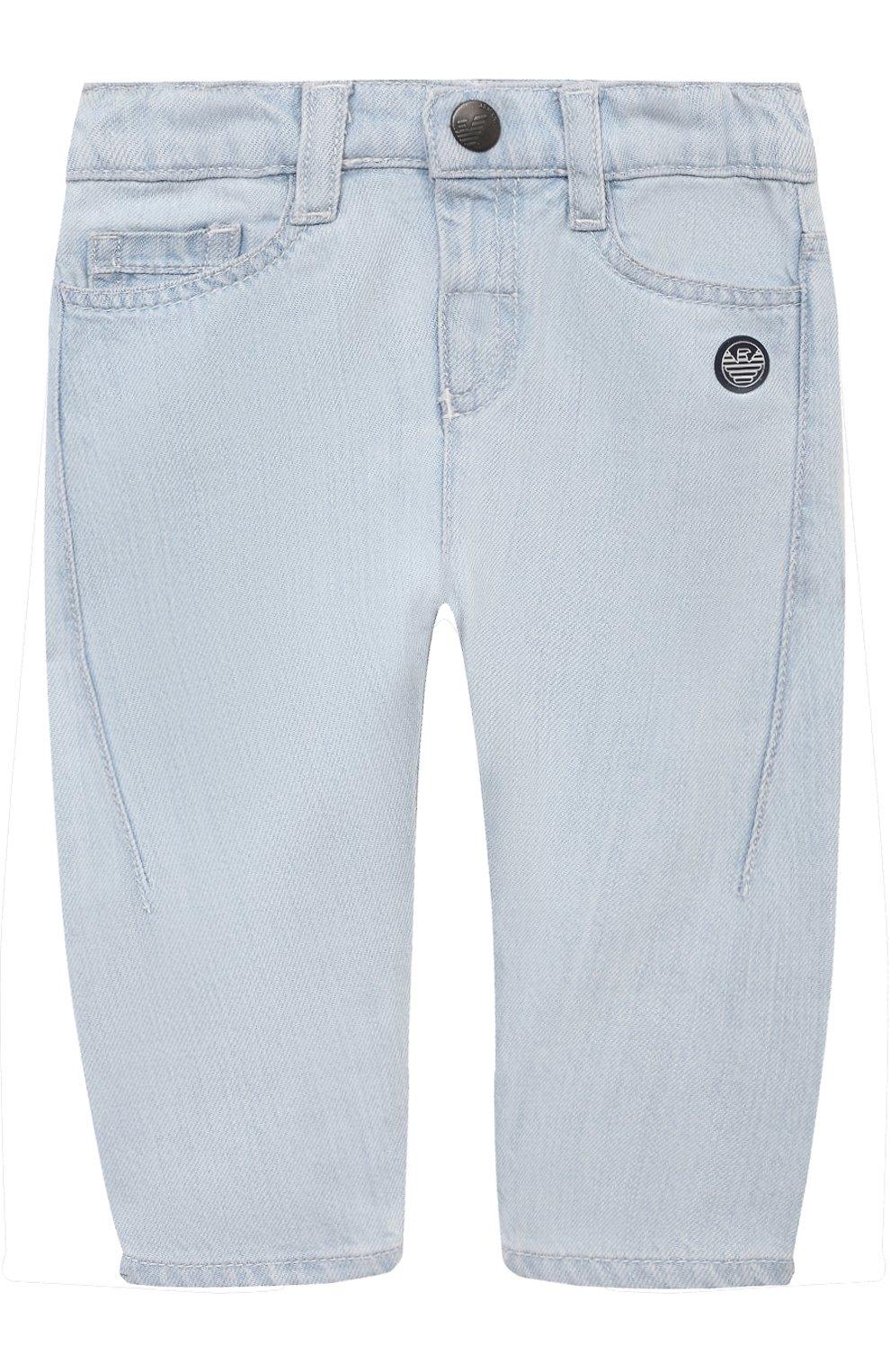 Детские джинсы EMPORIO ARMANI голубого цвета, арт. 3KHJ06/4D2KZ | Фото 1