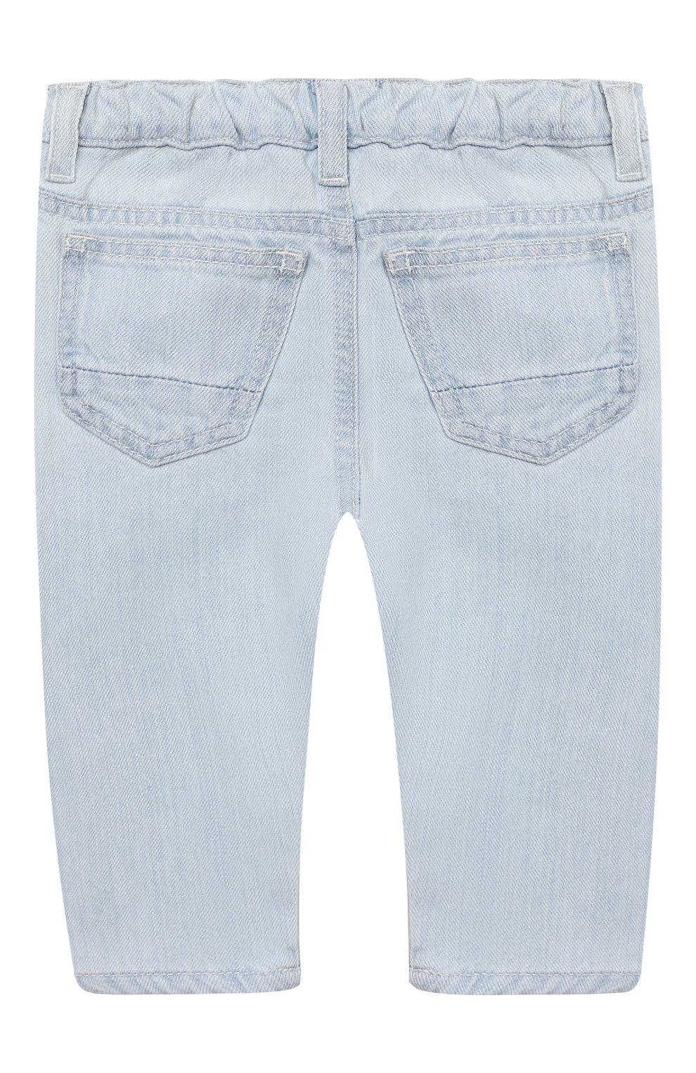 Детские джинсы EMPORIO ARMANI голубого цвета, арт. 3KHJ06/4D2KZ | Фото 2