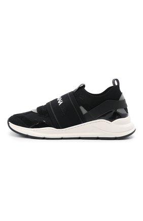 Детские кроссовки DOLCE & GABBANA черного цвета, арт. DA0968/A0238/37-39   Фото 2