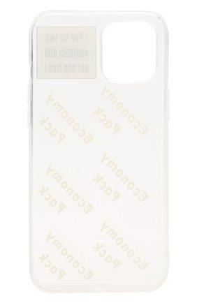 Чехол для iphone 12 pro max MISHRABOO прозрачного цвета, арт. Economy 12 Pro Max | Фото 2