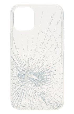 Чехол для iphone 12 mini MISHRABOO прозрачного цвета, арт. Broken 12 mini | Фото 1