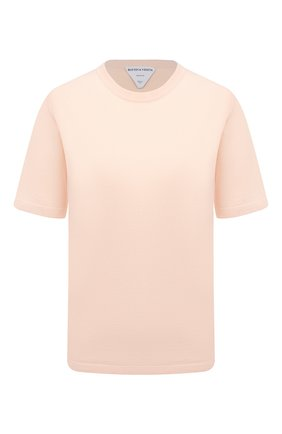 Женский кашемировый пуловер BOTTEGA VENETA светло-розового цвета, арт. 658826/VKSE0 | Фото 1