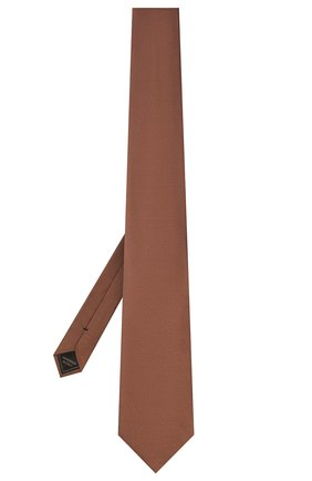 Мужской шелковый галстук BRIONI коричневого цвета, арт. 062I00/09459 | Фото 2