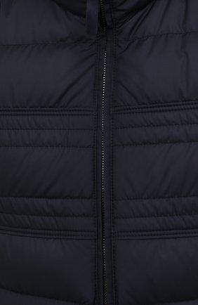 Мужской пуховый жилет BRIONI темно-синего цвета, арт. SWLI0L/P0908 | Фото 5