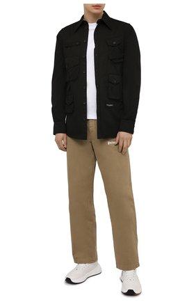 Мужская хлопковая рубашка DOLCE & GABBANA черного цвета, арт. G5IF0T/G8DS2 | Фото 2